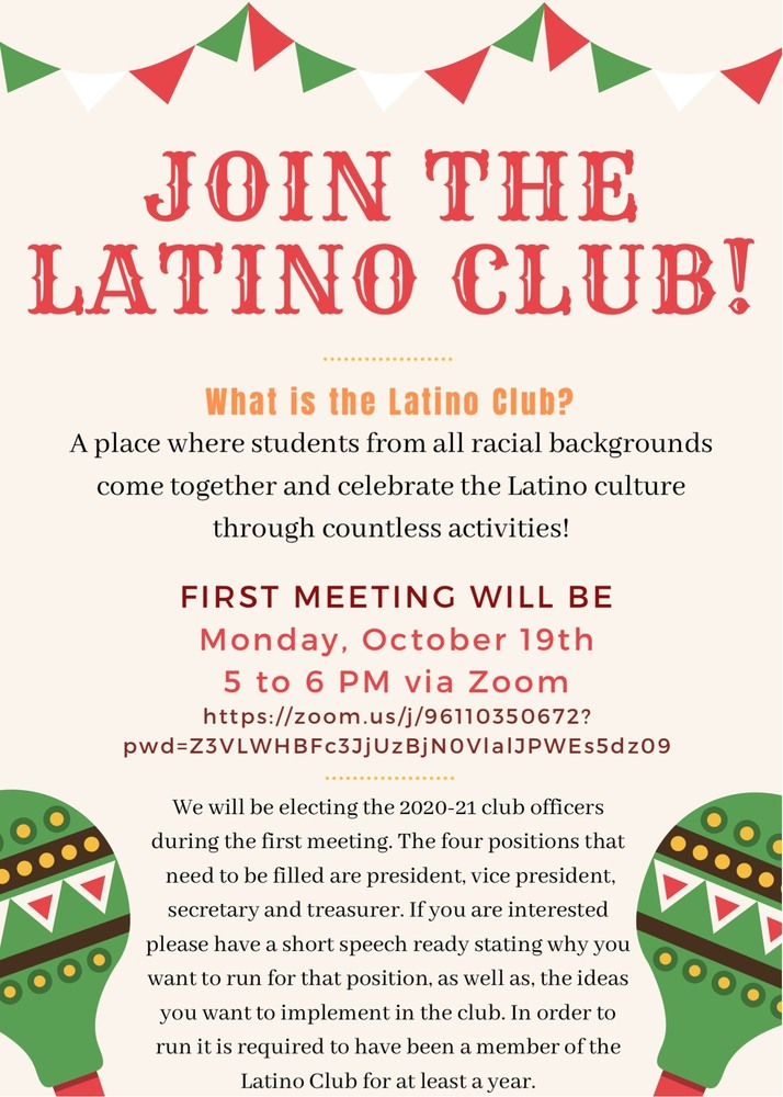Join the Latino Club