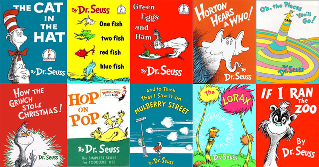 We are Celebrating Dr. Seuss Week!