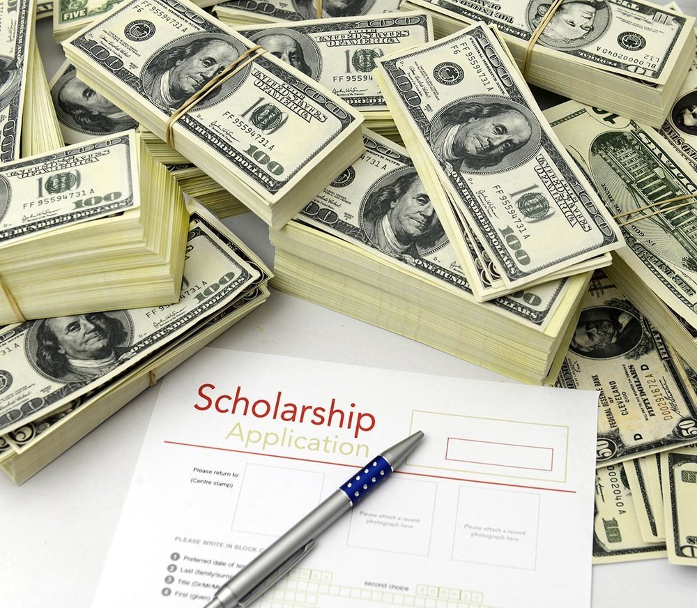 Scholarship app and money